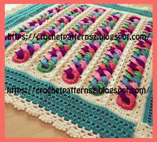 Crochet Pattern/ Pdf Download English Crochet Pattern for Baby Blanket 02178