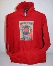 Blood Moon Montana Jan 20, 2019- Eclipse Hoodie Sweatshirt 3XL, Red