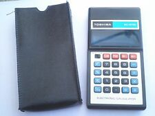 Vintage Electronic Pocket Calculator TOSHIBA BC 8111B,Japan Taiwan,not working