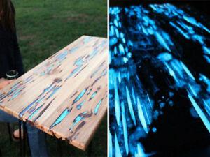 Pigmento polvere fosforescente fluorescente da usare con resine per hobbystica