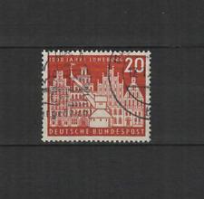 1956 Bundespost ALLEMAGNE ville de Lünebourg 1 timbre oblitéré /T3303