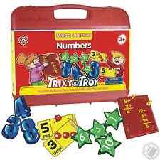 Trixy & Troy Mega Learner Numbers, Homeschool Early Education Kit, Preschool