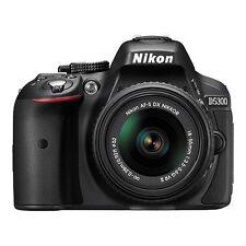Nikon D5300 Digital SLR Camera 24.2MP with 18-55mm VR AF-P DX Lens Black NEW