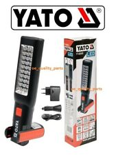 Yato Professional Rechargeable LED Work Hand Lamp Light Torch Workshop YT-08505