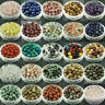 Wholesale Lot Natural Gemstone Crystal Round Spacer Loose Beads 4mm 6mm 8mm 10mm