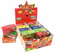 24 Juicy Jays Rolls Mix N Roll King Size Rolling Papers Mixed Flavours Box£17.99