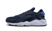 Nike Men's Air Huarache Shoes NEW AUTHENTIC Navy/White 318429-444