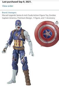 Marvel Legends What If BAF Watcher Zombie Captain America PRESALE Confirmed