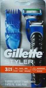 Gillette Fusion ProGlide Styler Beard Trimmer Men's Razor & Edger Set