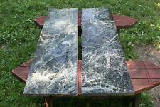 Black Green Marble Salvage Slab Conrad Hotel Massillon Ohio