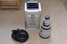 Canon EF 200mm F1:1.8 L Ultrasonic.Lens hood trunk case Lattest Model