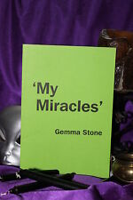 MY MIRACLES Finbarr Occult Grimoire. White Magic. Magick Gemma Stone. Spells
