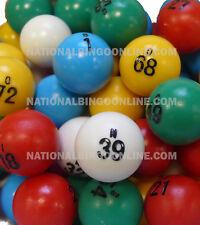 Multi-color Small Bingo Ball Set