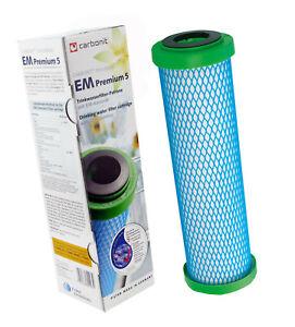 Wasserfilterpatrone EM Premium 5 von Carbonit mit Keramik für Sanuno Vario Duo