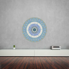 Native American Symbology Mandala Vinyl Wall Art Sticker for Home Decor / Int...
