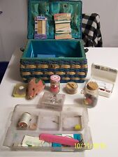 Vintage Sewing Box Full