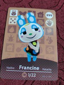Francine Amiibo Card 1/22