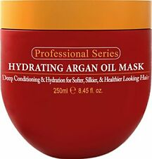 Hydrating Argan Oil Hair Mask and Deep Conditioner By Arvazallia Dry Damaged Hai