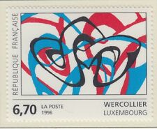 TIMBRE FRANCE NEUF  N° 2986  ** OEUVRE ORIGINALE DE WERCOLLIER LUXEMBOURG