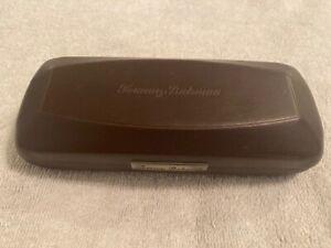 Tommy Bahama Sun Glass Case Eyeglasses Brown Square Hardcase