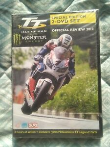 ISLE OF MAN TT Official Review 2012 DVD  NEW AND SEALED