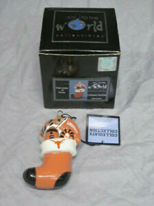 University of Texas Longhorns Collegiate Stocking Ornament from Joy To The World