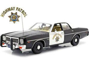 "1975 Dodge Coronet ""California Highway Patrol"" 1:18 Greenlight 19075"