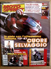 MOTOSPRINT n°12 1999  Ducati Monster City 750 Yamaha YZF-R7   [P54]