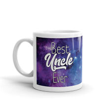 Funny Best Uncle Ever - Nebula Solar System Galaxy Space Coffee Tea Mug #12285