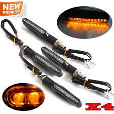 4pcs universal Motorcycle LED Turn Signal Light Indicator Blinker Lamp Amber