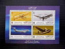 QATAR 2003 Aeroplanes M/Sheet MS1134 U/M FP9781