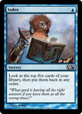 Index LP x4 M13 Core Set  MTG Magic Cards Blue Common