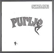 "Robert Guillaume ""PURLIE"" Patti Jo / Sherman Hemsley 1972 Detroit Playbill"