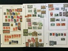 STAMPS FRANCE 1932 -MINT & USED 6 pg  #513