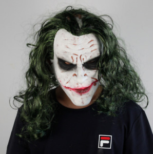 Halloween Mask Cosplay Scary Clown Latex Costume Props Mask Halloween Party