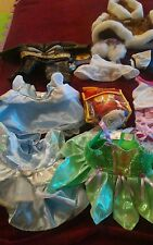 Build-a-bear Babw Lot Of Mixed Clothes&Accesories