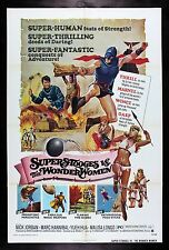 SUPER STOOGES VS THE WONDER WOMEN 1974 CineMasterpieces ORIGINAL MOVIE POSTER