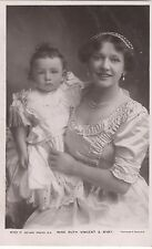 POSTCARD  ACTRESSES Ruth Vincent and Baby  2