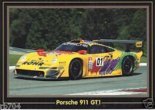 1997 IMSA Rohr Racing Porsche 911 GT1 Andy Pilgrim & Dorsey Schroeder Postcard