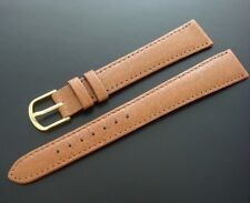 Beautiful Men's 18mm LONG Pigskin Watch Strap/Band