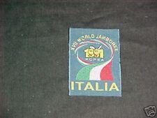 1991 World Jamboree Italy patch        td