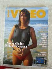 portuguese magazine cover sophie marceau year 1991