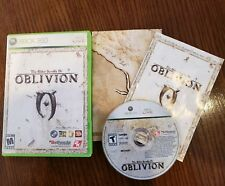 The Elder Scrolls IV: Oblivion (Xbox 360) Complete W/ Map FREE FAST SHIPPING