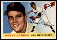 1955 Topps Bobby Hofman New York Giants #17