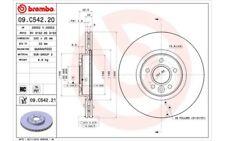 1x BREMBO Disco de freno delantero Ventilado 320mm Para VOLVO V50 09.C542.21