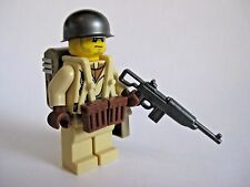 Lego Custom WW2 USA PARATROOPER Minifigure Brickarms M1 Weapons Army Military
