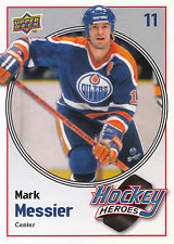 09/10 UPPER DECK HOCKEY HEROES MARK MESSIER OILERS #HH22 *9060