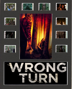 Wrong Turn (2021) Replica Film Cell Presentation 10x8 Mounted 10 cells