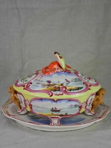 Mid century soup tureen for Bouillabaisse from Marseille