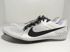 Nike Zoom Victory 3 White 835997-102 Men's Track and Field Spikes Size 12